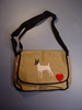 Toy Fox Terrier Messenger Bag