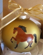 Morgan Hand Painted Christmas Ornament