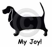 Basset Hound My Joy! My Love! My Life! Long Sleeve T-Shirt