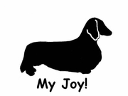 Dachshund Longhaired My Joy! My Love! My Life! Long Sleeve T-Shirt