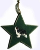 Cavalier King Charles Spaniel Tree Topper/ Window Star