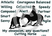 Cutting Horse  Obsession T-Shirt