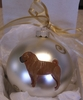 Chinese Shar-Pei Hand Painted Christmas Ornament