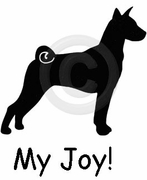 Basenji My Joy! My Love! My Life! T-Shirt