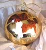 Welsh Springer Spaniel Hand Painted Christmas Ornament