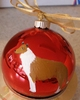 Collie - Smooth - Hand Painted Christmas Ornament