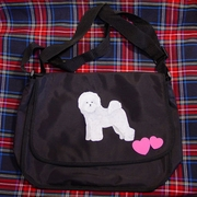 Bichon Frise Messenger Bag
