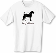 Jack Russell Terrier T-Shirt Personalized with Dog's Name