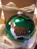 English Springer Spaniel Hand Painted Christmas Ornament