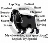 English Toy Spaniel Obsession T-Shirt