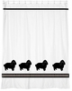 English Toy Spaniel Shower Curtain