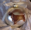 Field Spaniel Hand Painted Christmas Ornament