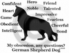 German Shepherd Dog Obsession T-Shirt