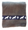 German Shepherd Dog Bath Towels