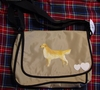 Golden Retriever Messenger Bag