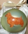 Australian Terrier Hand Painted Christmas Ornament