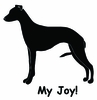 Whippet My Joy! My Love! My Life! Long Sleeve T-Shirt