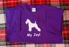Wire Fox Terrier My Joy! My Love! My Life! Long Sleeve T-Shirt