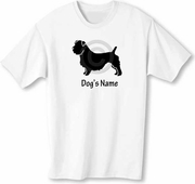 Glen of Imaal Terrier T-Shirt Personalized with Dog's Name