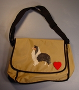 Collie Messenger Bag