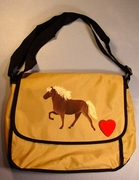 Icelandic Horse Messenger Bag
