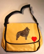 Schipperke Messenger Bag