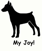 German Pinscher My Joy! My Love! My Life! Sweatshirt
