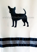 Chihuahua Shower Curtain