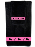 Shetland Sheepdog Bath Towels