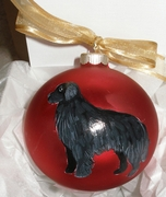 Newfoundland Hand Painted Christmas Ornament