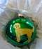 Labradoodle Hand Painted Christmas Ornament