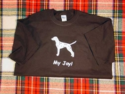 Dalmatian My Joy! My Love! My Life! Long Sleeve T-Shirt