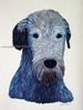Irish Wolfhound Original Artwork Greeting cards - Set of Five
