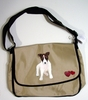 Jack Russell Terrier Puppy Messenger Bag