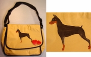 Doberman Pinscher Messenger Bag