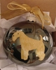 Lakeland Terrier Hand Painted Christmas Ornament