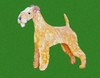 Lakeland Terrier Original Art - Greeting Cards (5)
