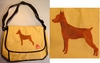 Miniature Pinscher Messenger Bag
