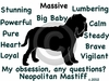 Neapolitan Mastiff Obsession Long Sleeve Tshirt