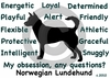 Norwegian Lundehund Obsession T-Shirt