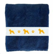 Soft Coated Wheaten Terrier Bath Towels