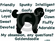 Goldendoodle Obsession Tshirt