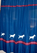 Bull Terrier Shower Curtain