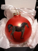 Arabian Hand Painted Christmas Ornament