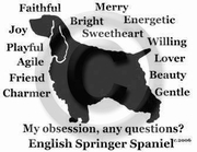 English Springer Spaniel Obsession T-Shirt