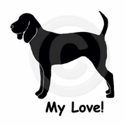 Black and Tan Coonhound My Joy! My Love! My Life! Long Sleeve T-Shirt