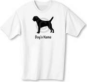 Border Terrier T-Shirt Personalized with Dog's Name