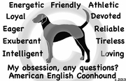 American English Coonhound Obsession Long Sleeve T-Shirt