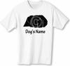Pekingese T-Shirt Personalized with Dog's Name