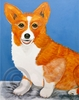 Corgi Original Artwork Print